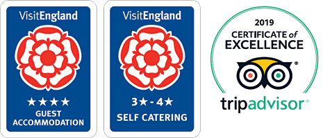 Visit England and Trip Advisor awards